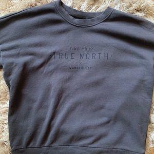 Grey ADIDAS sweatshirt